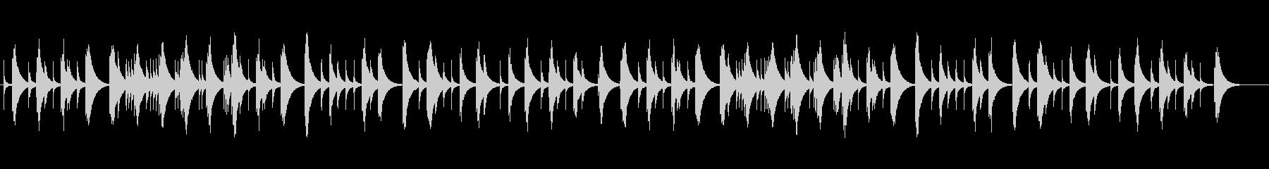ショパン夜想曲4番のオルゴールの未再生の波形