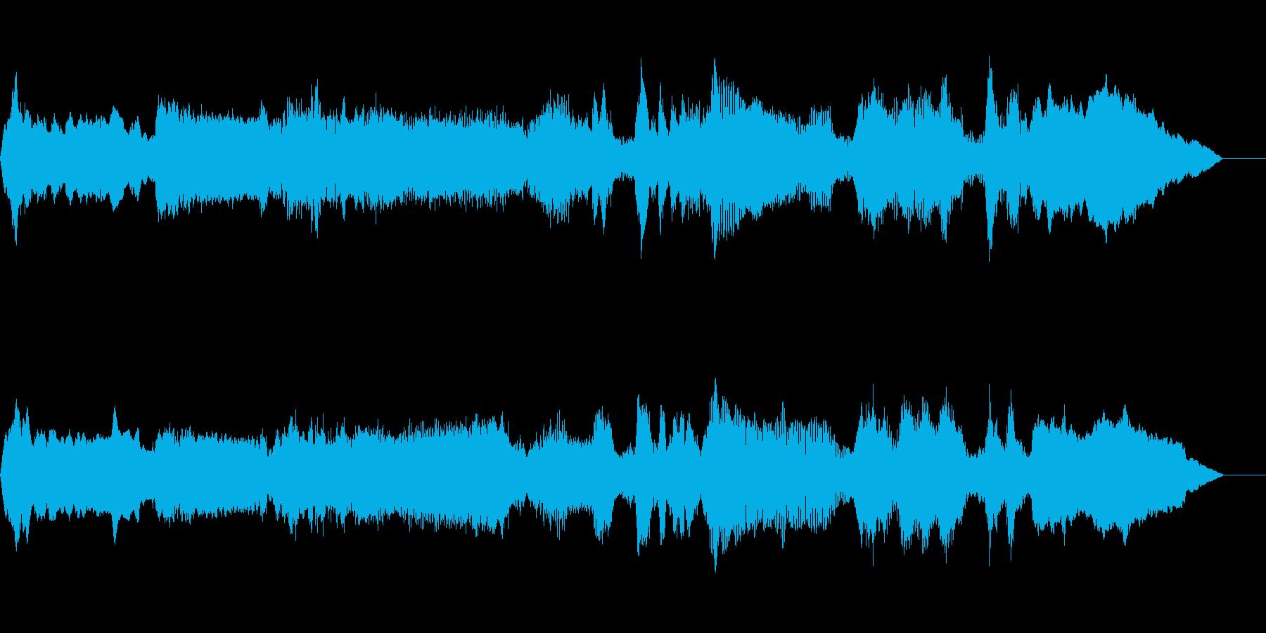 リラックスとしたオーケストラの再生済みの波形