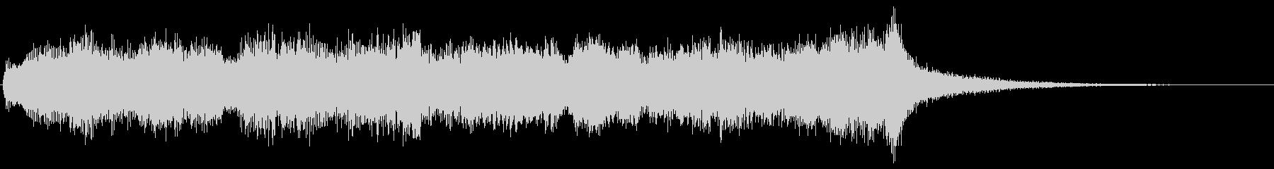 ハロウィン系ジングル シリアスでダークの未再生の波形
