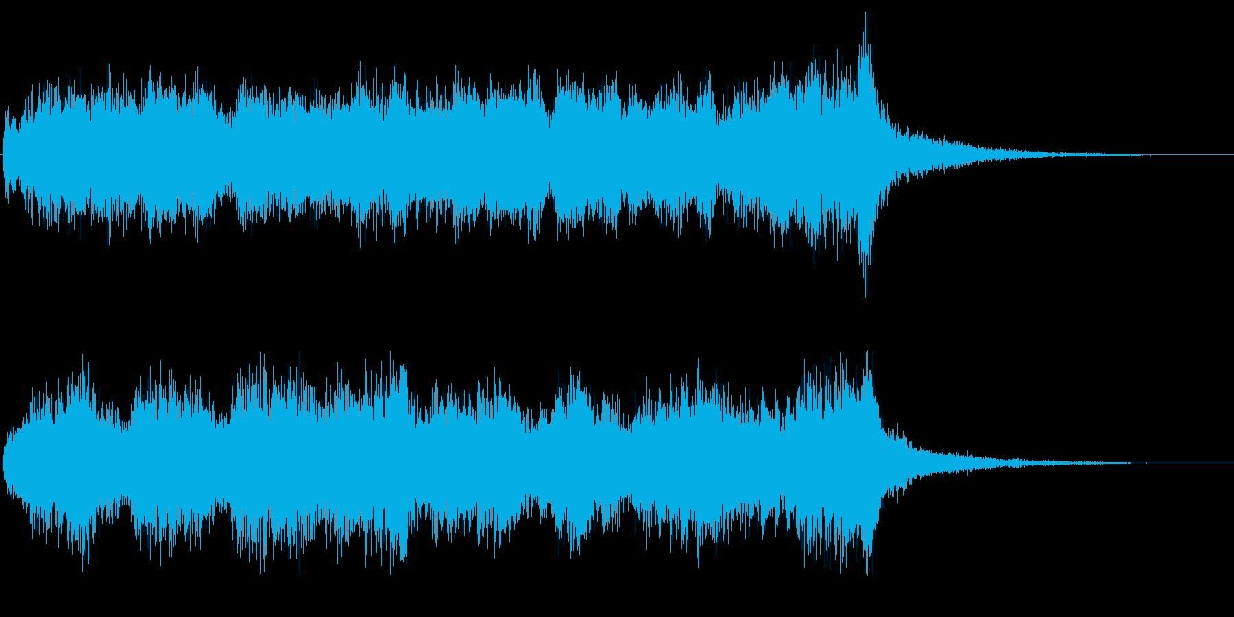 ハロウィン系ジングル シリアスでダークの再生済みの波形