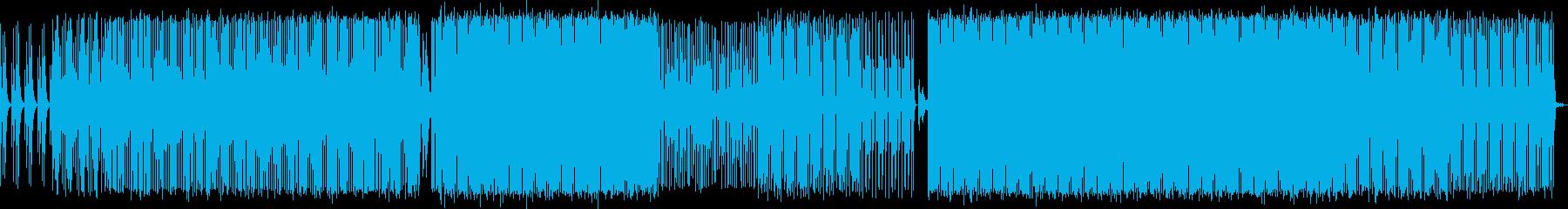 テクノをベースにした科学、物理の実験向けの再生済みの波形