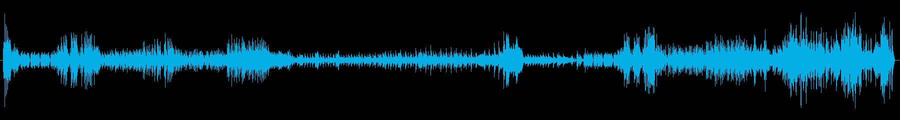 葬送曲の再生済みの波形