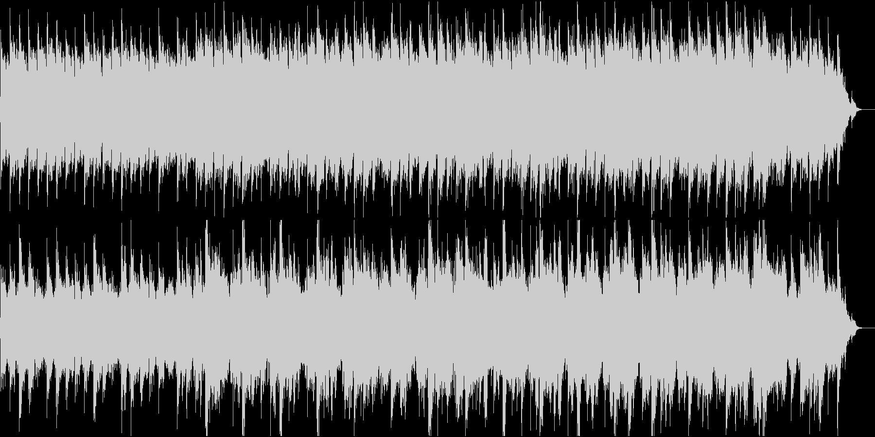 和風:日本の風情・情緒⑥高音弦と太鼓なしの未再生の波形