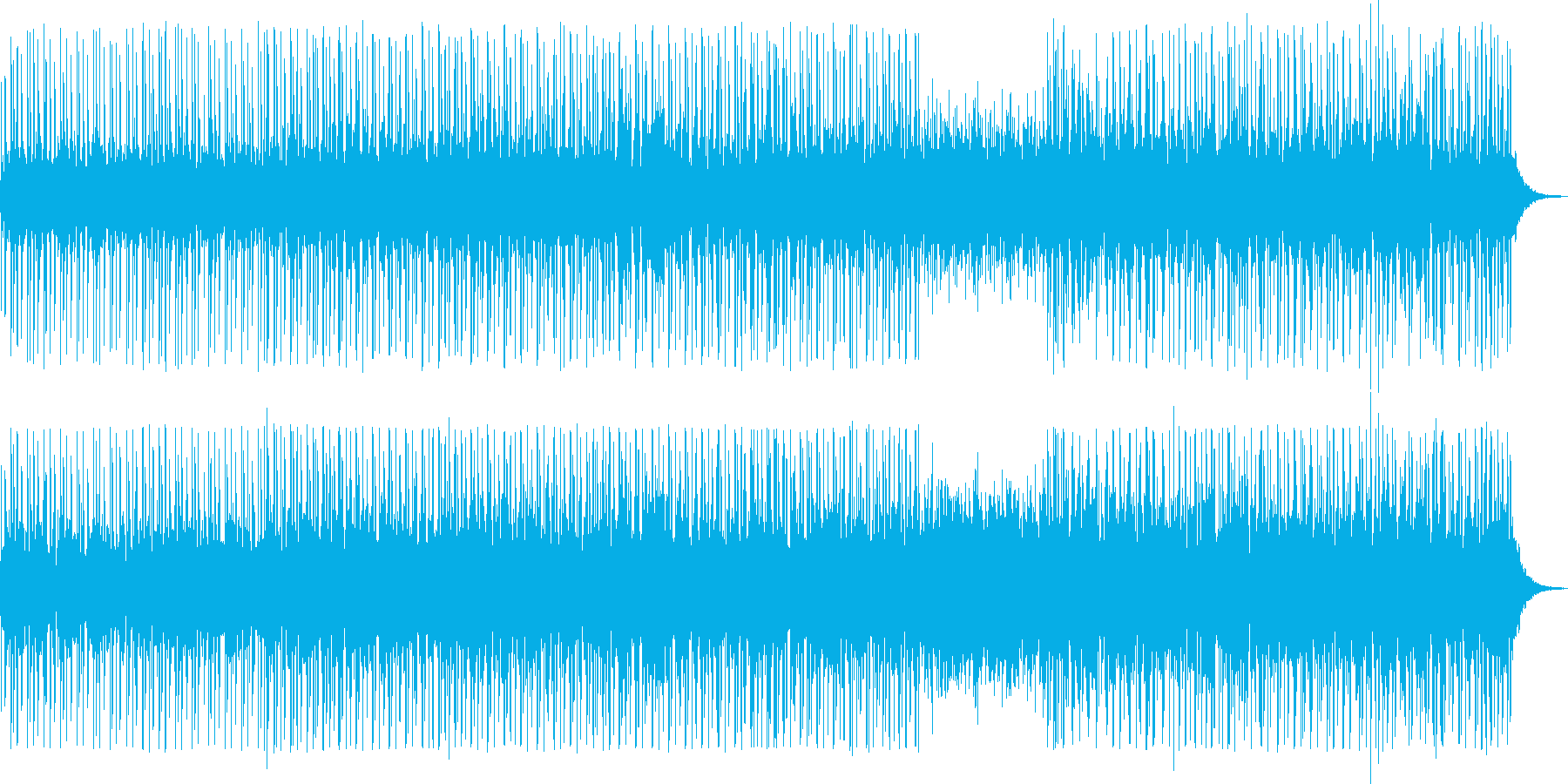 enordの再生済みの波形
