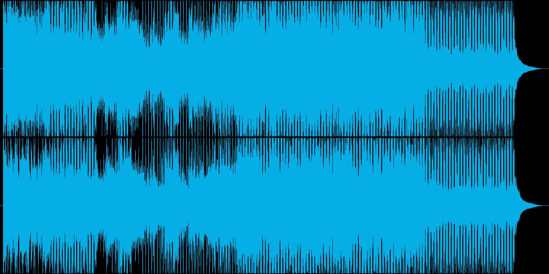 ほのぼのホッコリするポップスの再生済みの波形