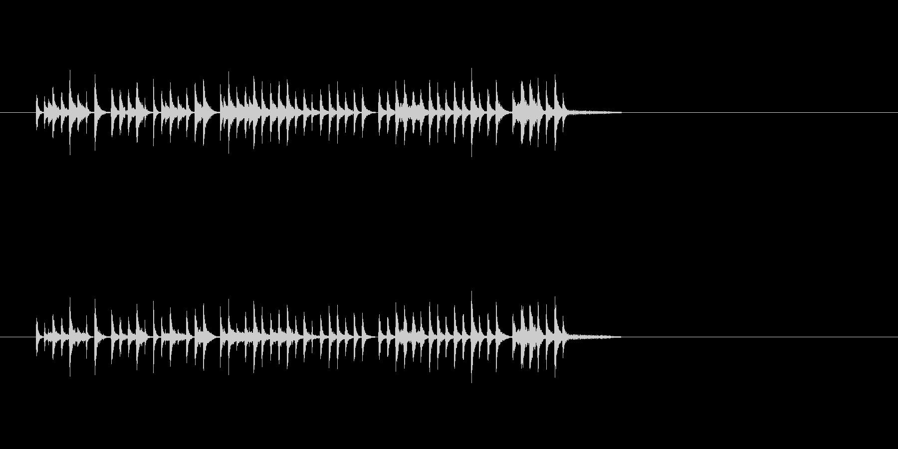 コミカル パーカッション 打楽器 楽しいの未再生の波形