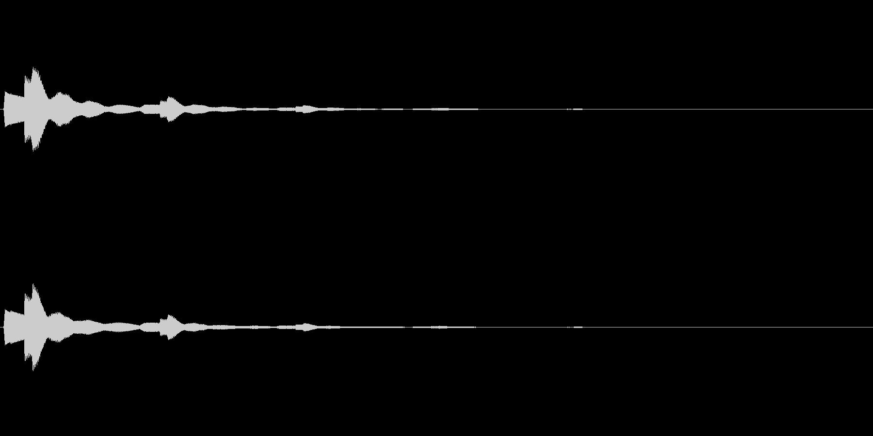 【ひらめき03-3】の未再生の波形
