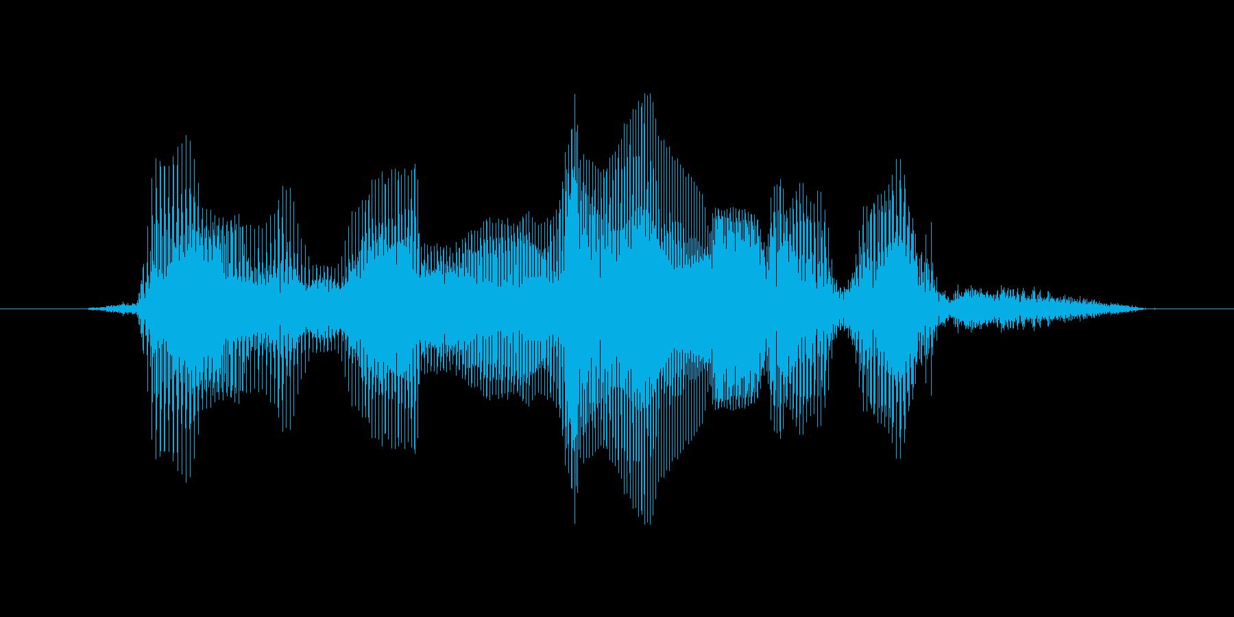 ファイナルラウンドですの再生済みの波形
