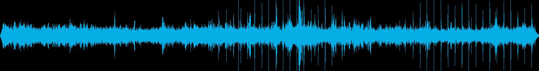 アスレチックのある公園(環境音)の再生済みの波形