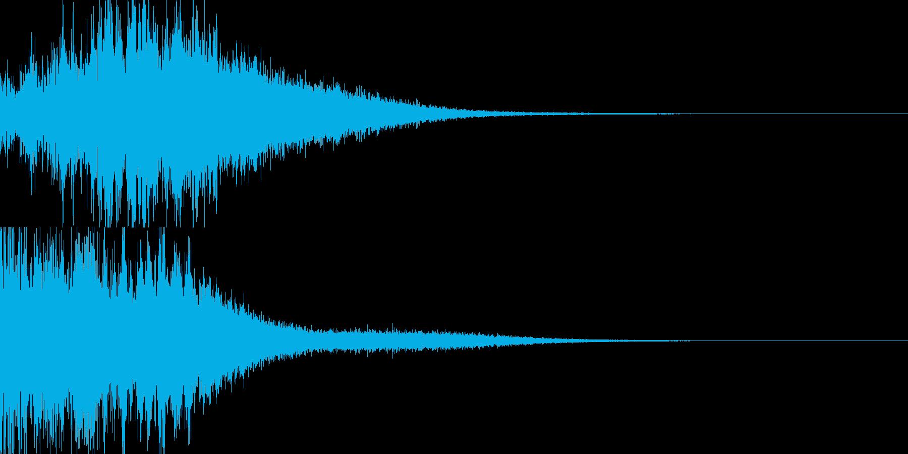 魔法04(水)の再生済みの波形