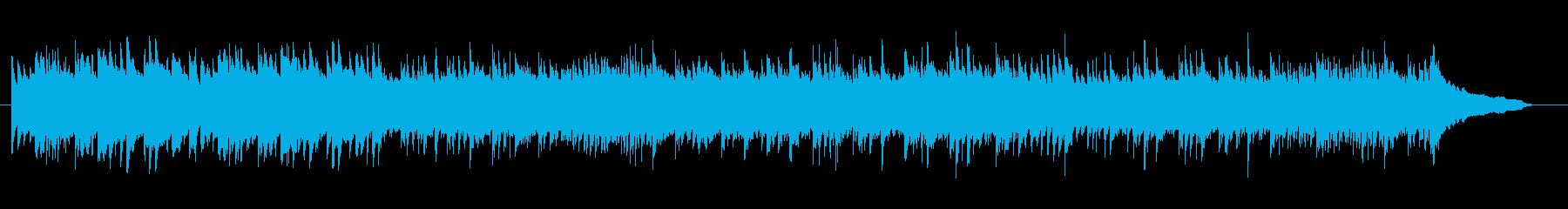ピアノ曲です。静かなシーンに。の再生済みの波形