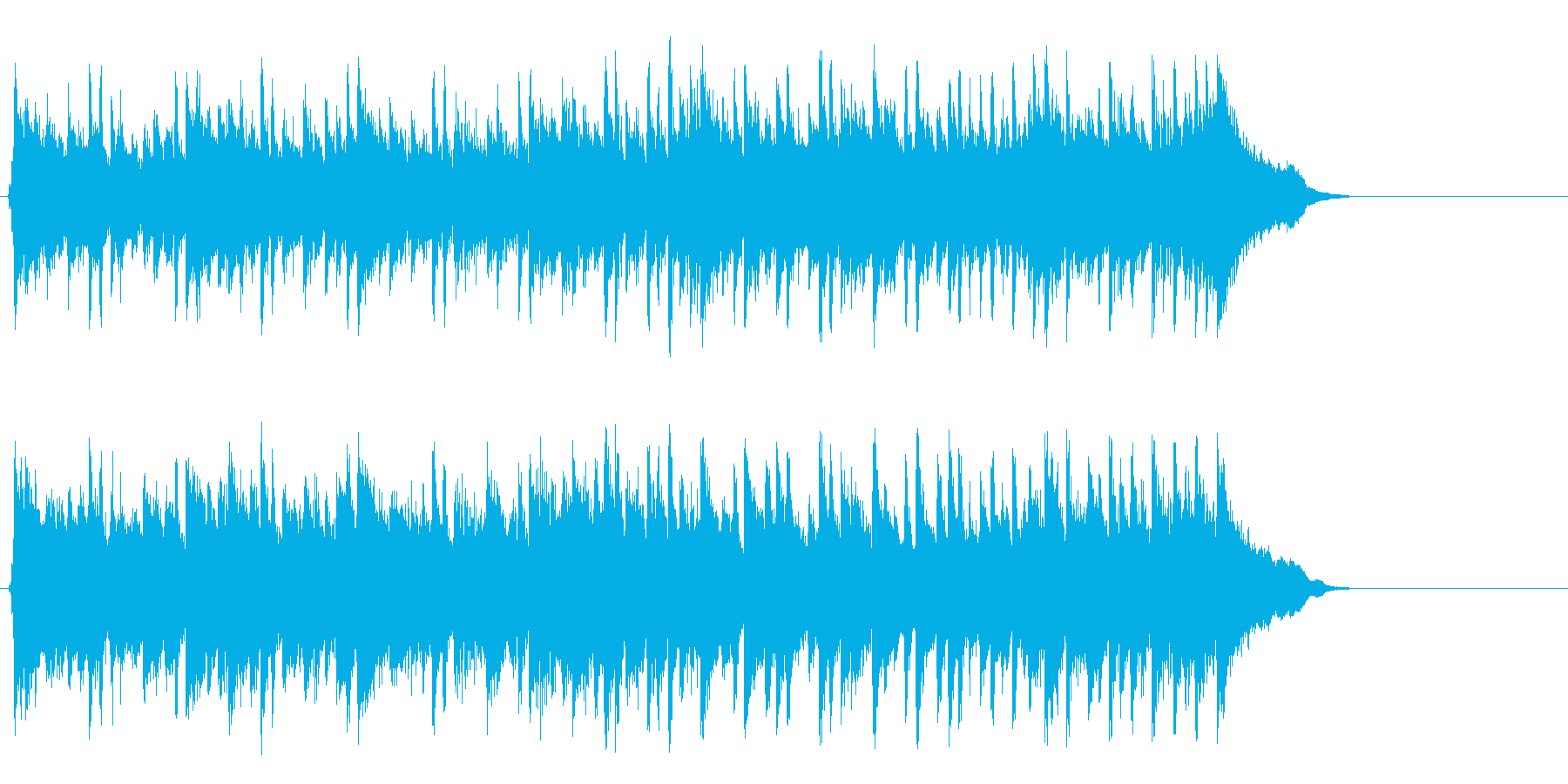 ポップ アコースティック(サビ~イン…)の再生済みの波形