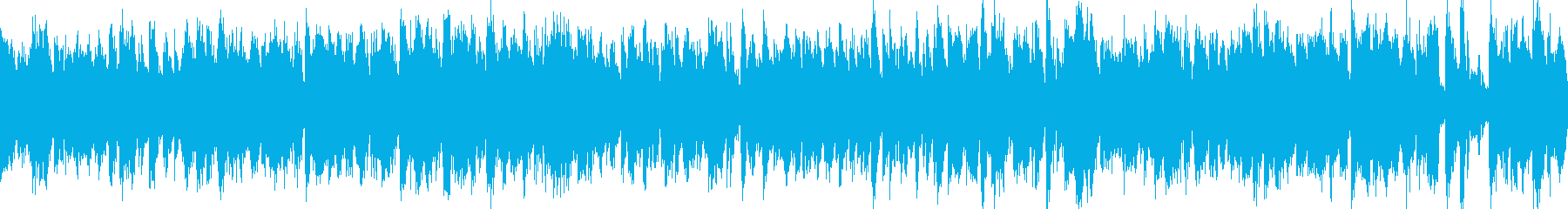 【ループ化】カジノ、ブルース、ジャズの再生済みの波形