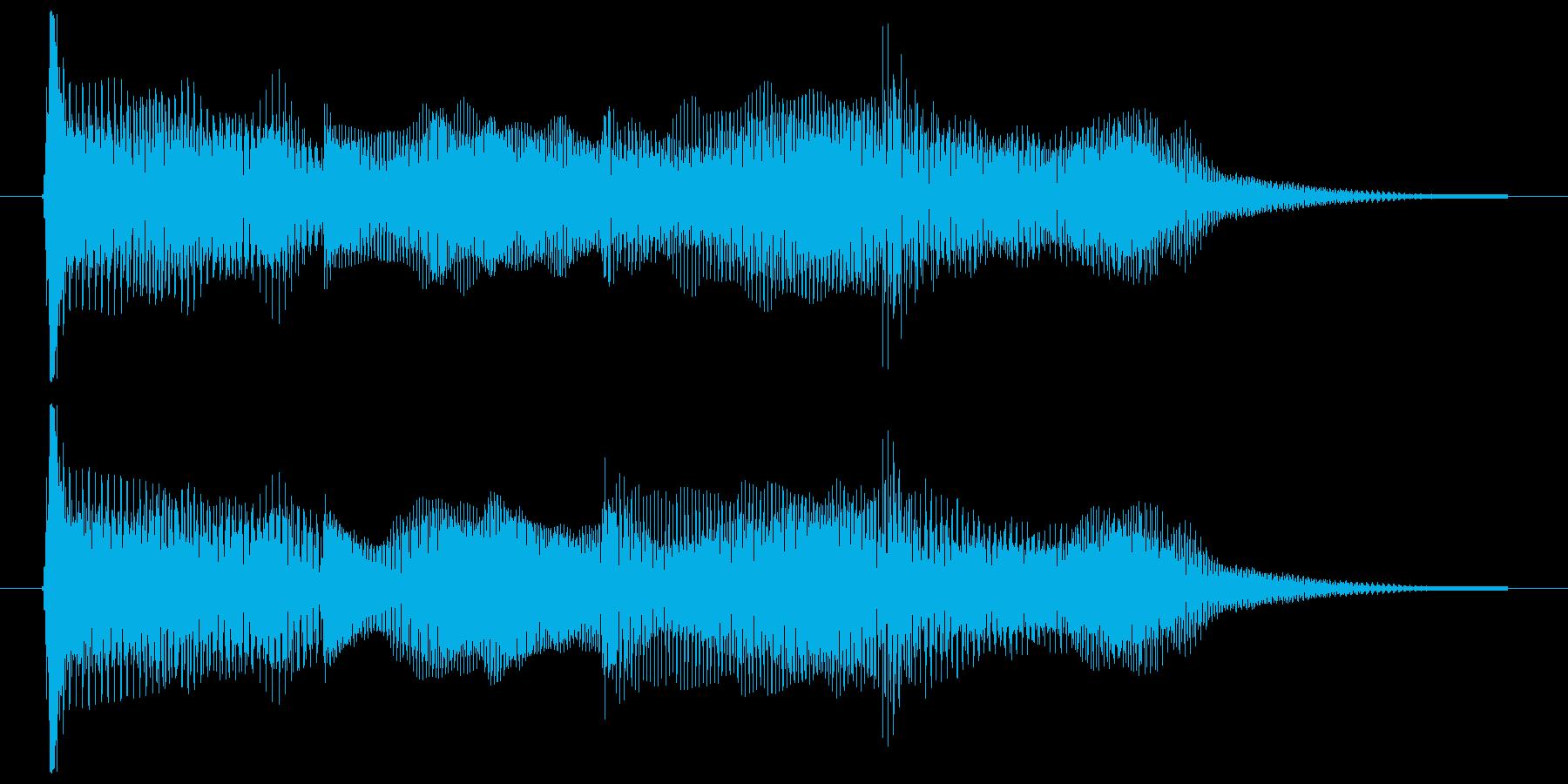 ゲームオーバー ミス 決定音 選択 使用の再生済みの波形