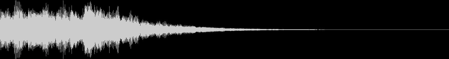 ジングル/レベルアップ/キラキラの未再生の波形