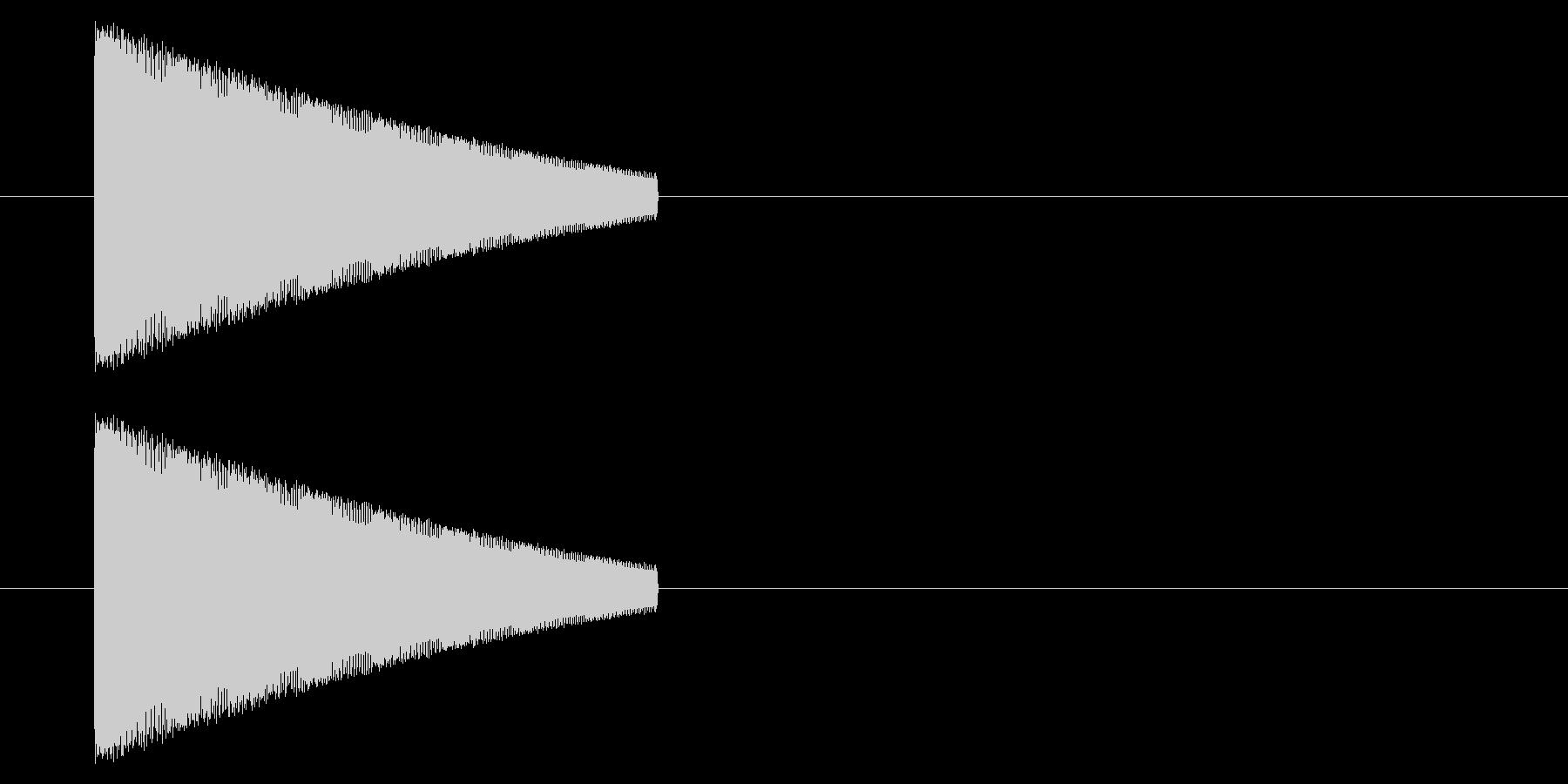 【NES 汎用01-09(ピッチ)】の未再生の波形