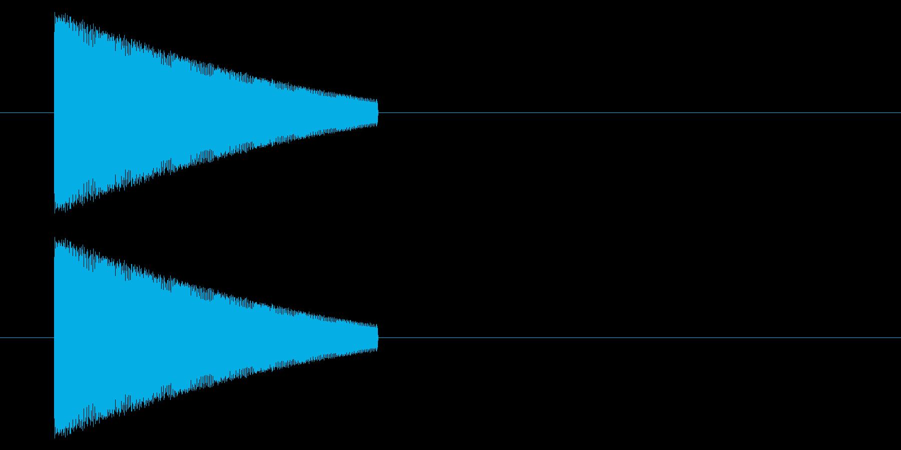 【NES 汎用01-09(ピッチ)】の再生済みの波形