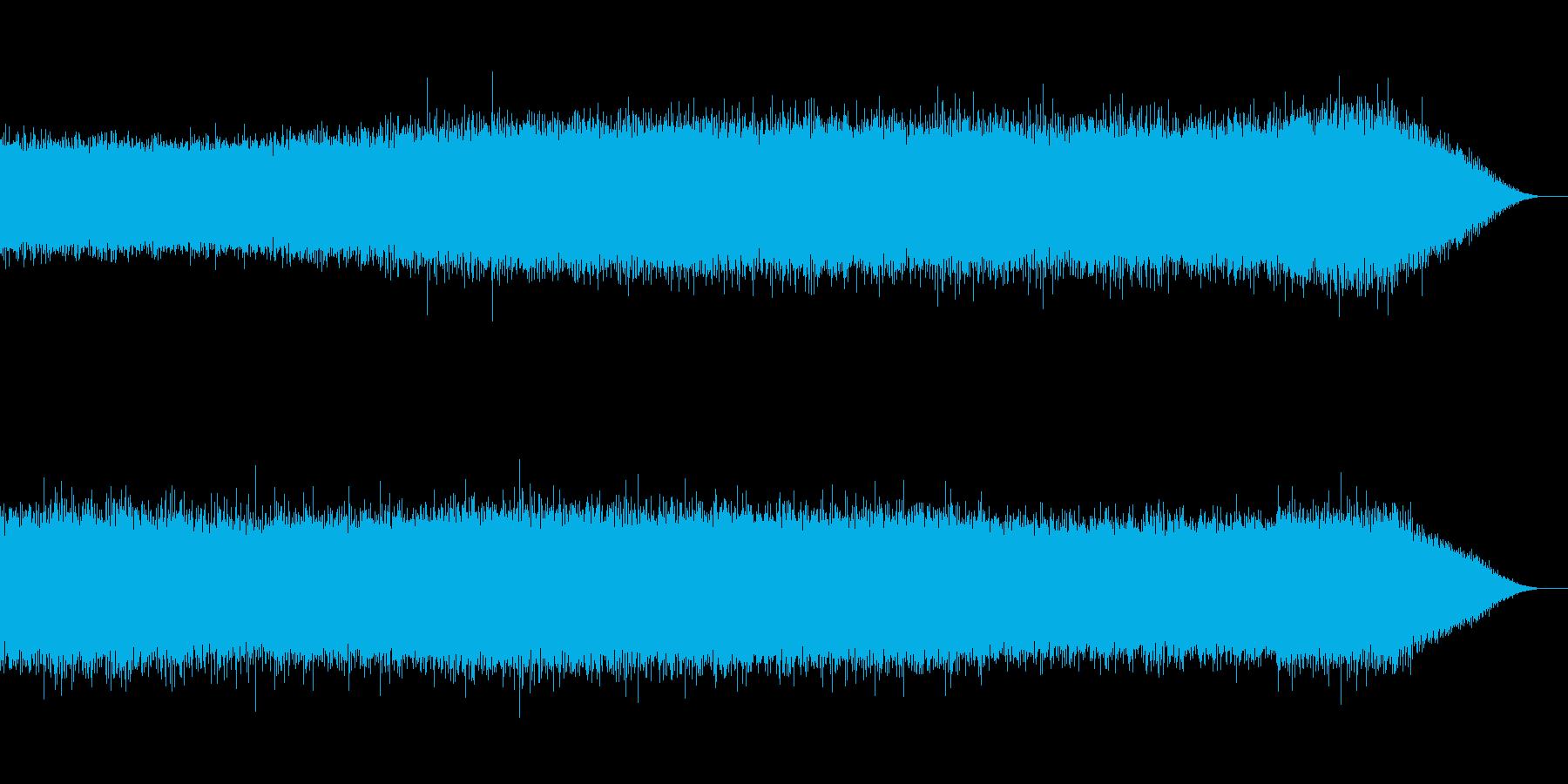 夏の田園風景を思わせる自然音(昼)の再生済みの波形
