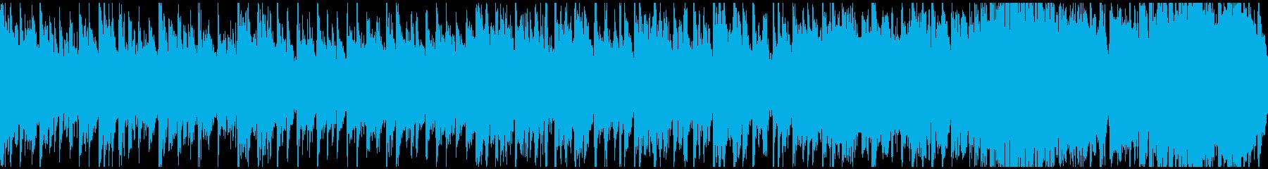 鐘のような音色の幻想的なエレクトロニカの再生済みの波形