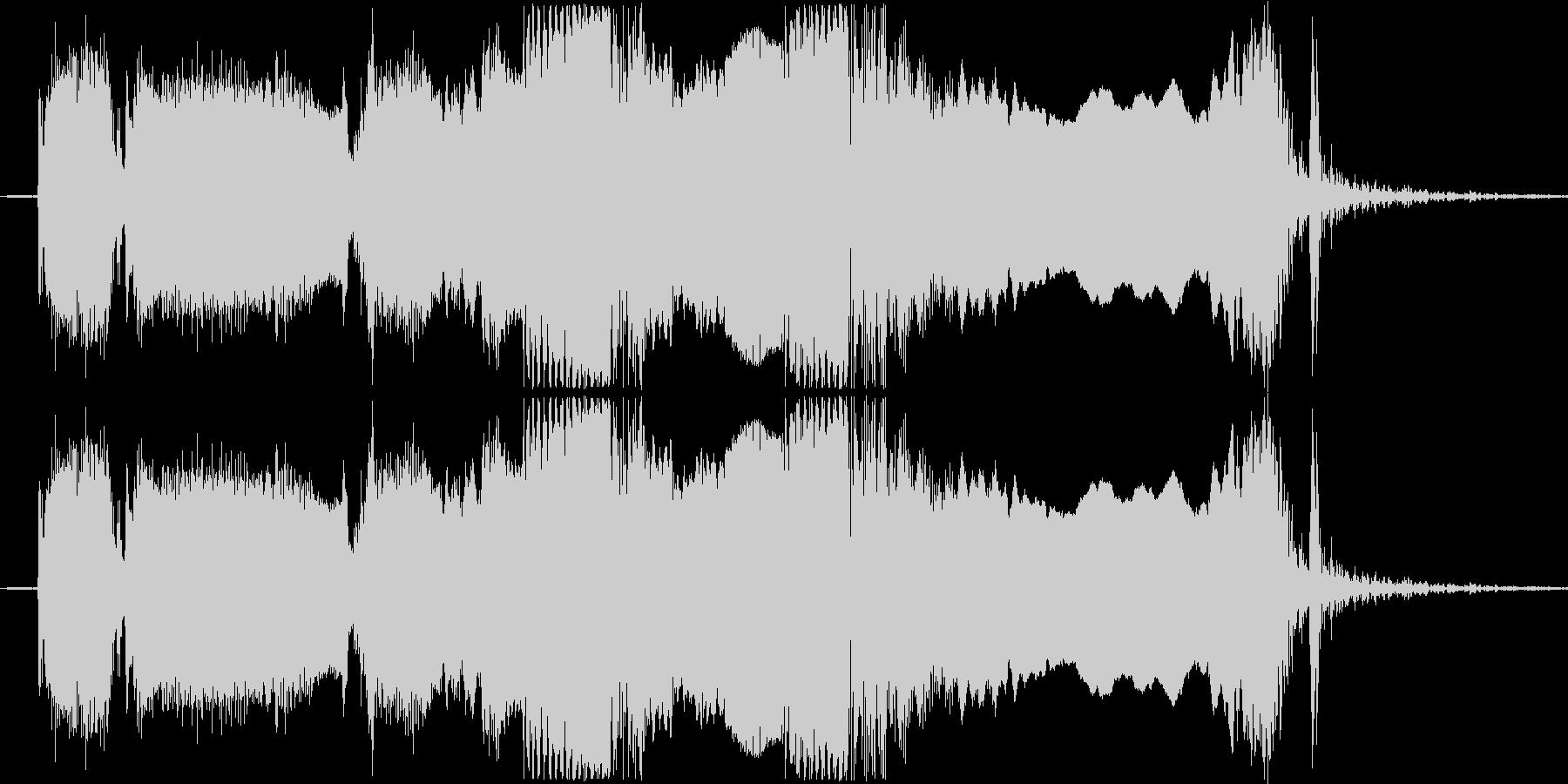 ギターフレーズ010の未再生の波形
