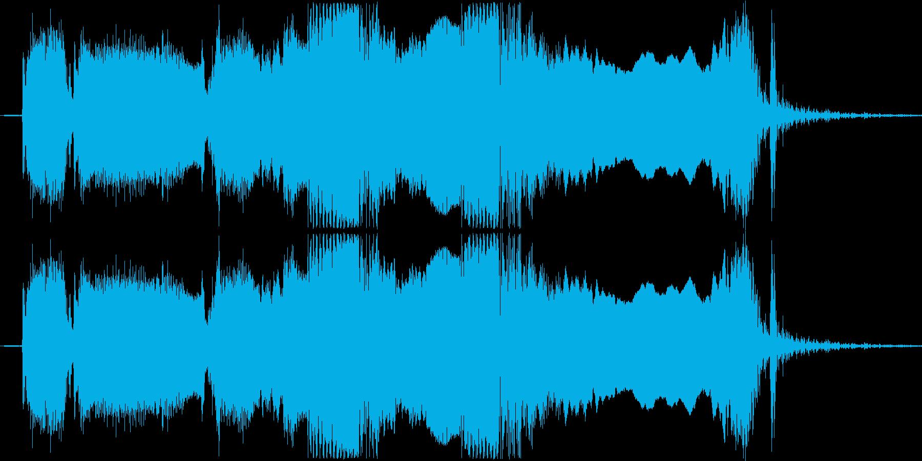 ギターフレーズ010の再生済みの波形