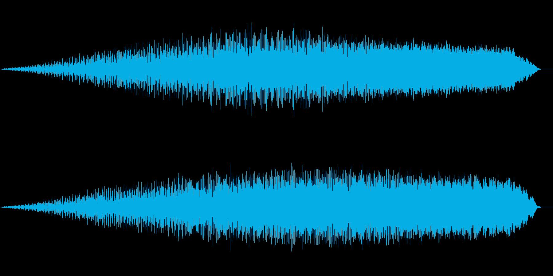 膨張 パワー充填の再生済みの波形