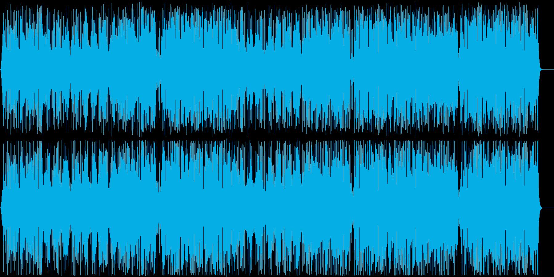 エンディング テーマ 軽快 おしゃれの再生済みの波形