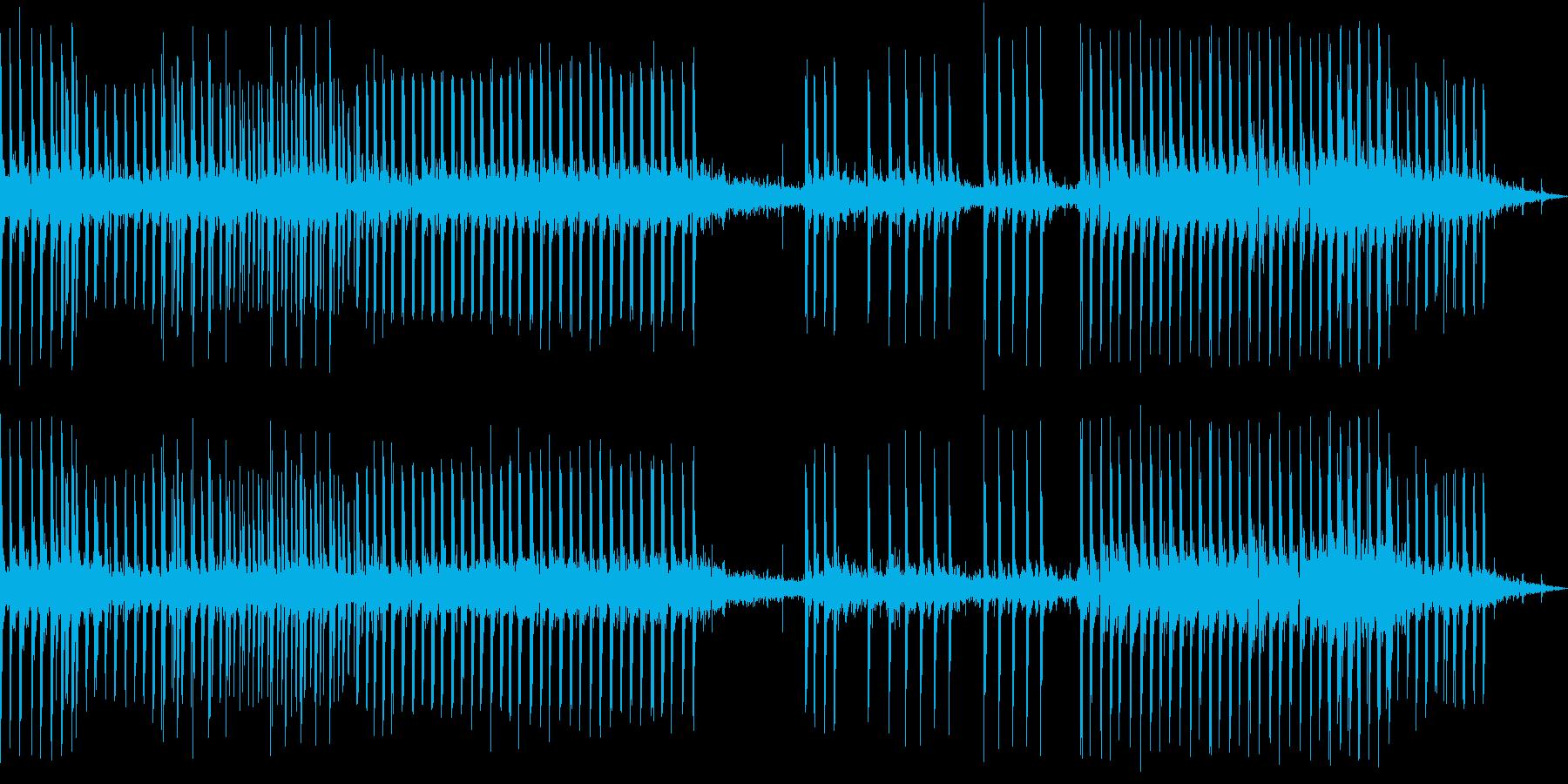 重機関銃の撃ち合い(大口径の弾薬発射)の再生済みの波形