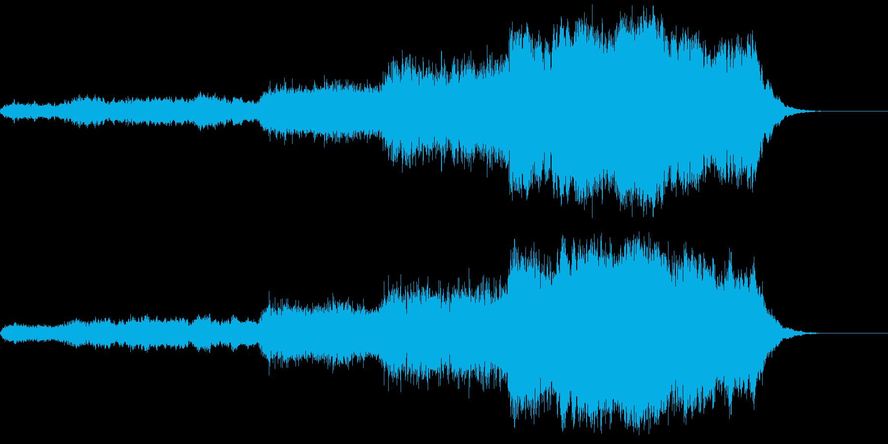 ハリウッド系 ヒーロー登場 ジングル2の再生済みの波形
