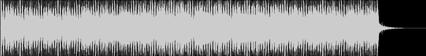 ニュース的なBGMの未再生の波形