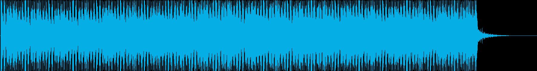 ニュース的なBGMの再生済みの波形
