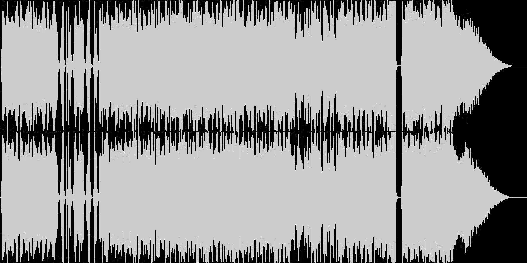 バトルやレーシングの挿入曲の未再生の波形