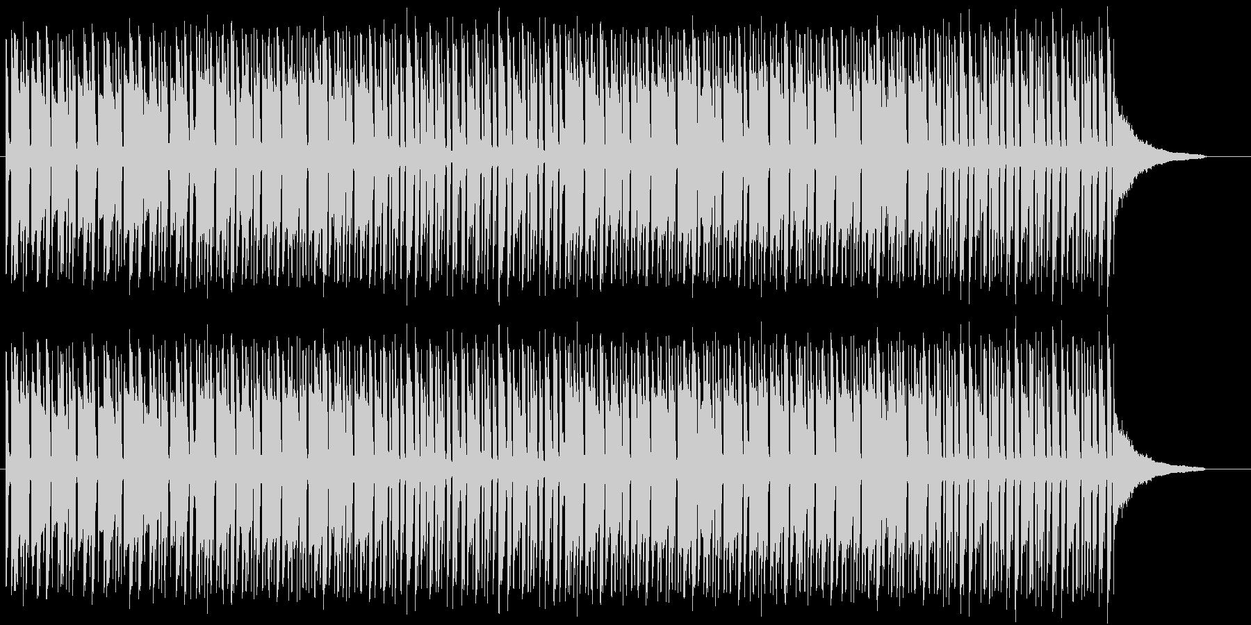 ほのぼの ボサノバ ラテン オープニングの未再生の波形