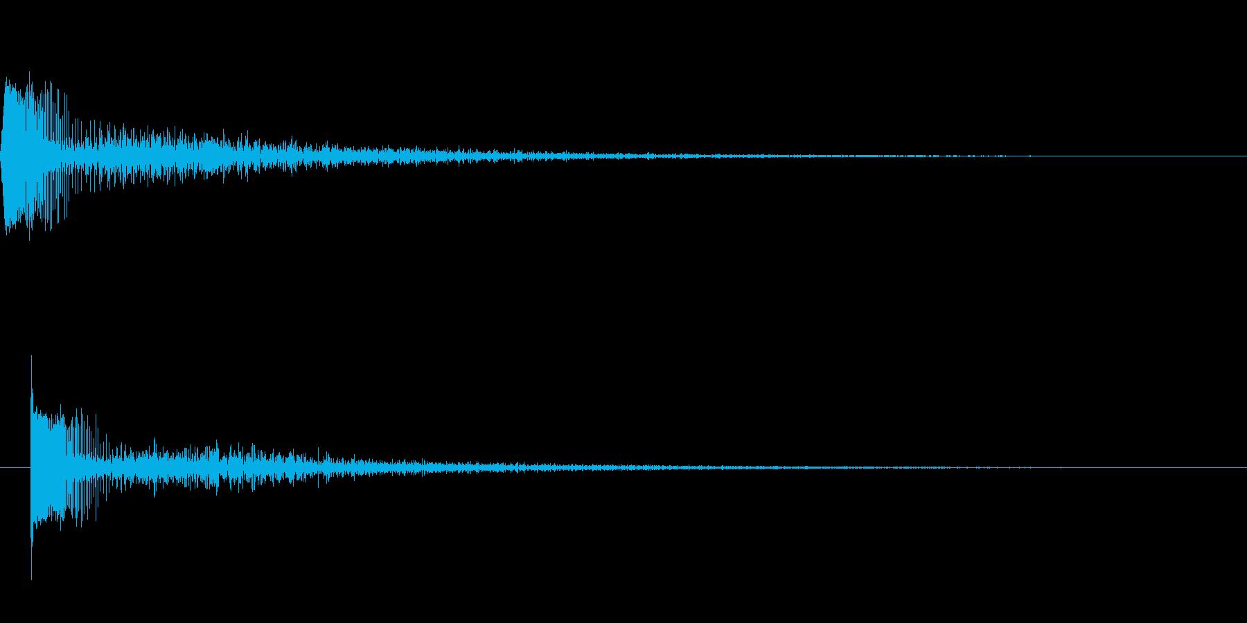 [効果音]レーザーガン、魔法の再生済みの波形