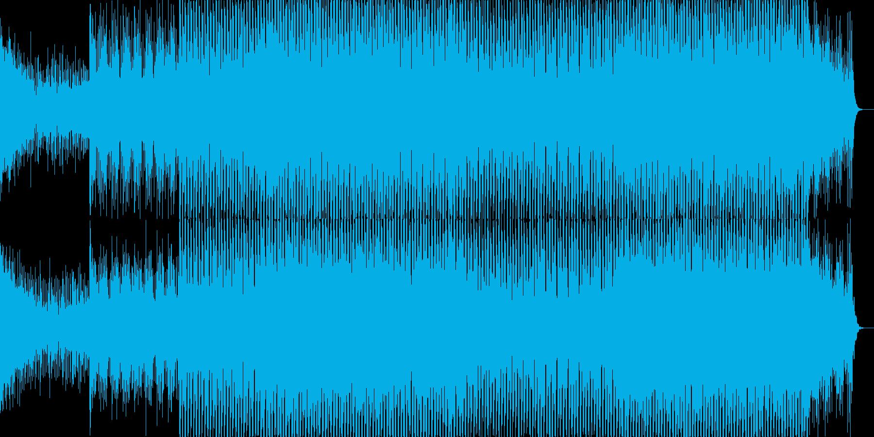 ニュース映像ナレーションバック向け-21の再生済みの波形