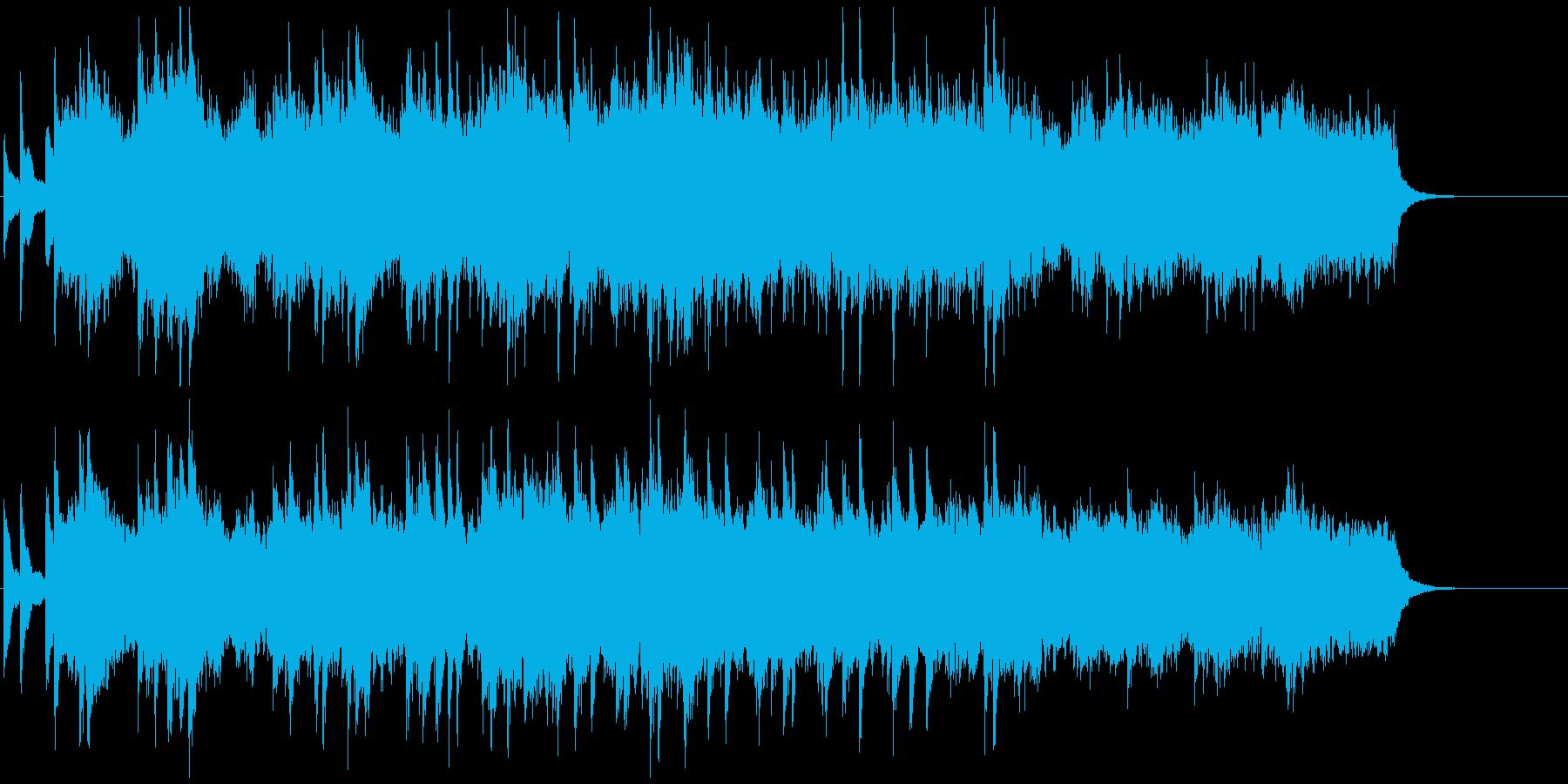 青空の様に爽やかなピアノとストリングスの再生済みの波形