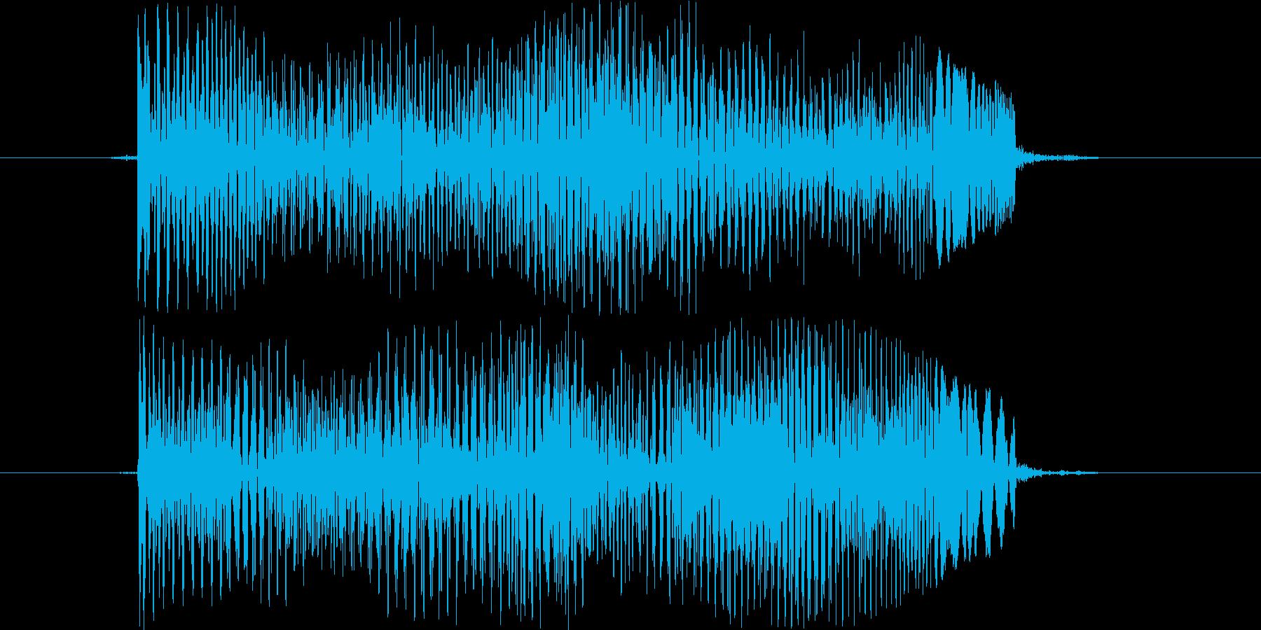 トゥーィの再生済みの波形