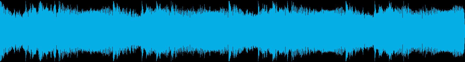 感動を演出するCM、爽やか動画、ループ5の再生済みの波形