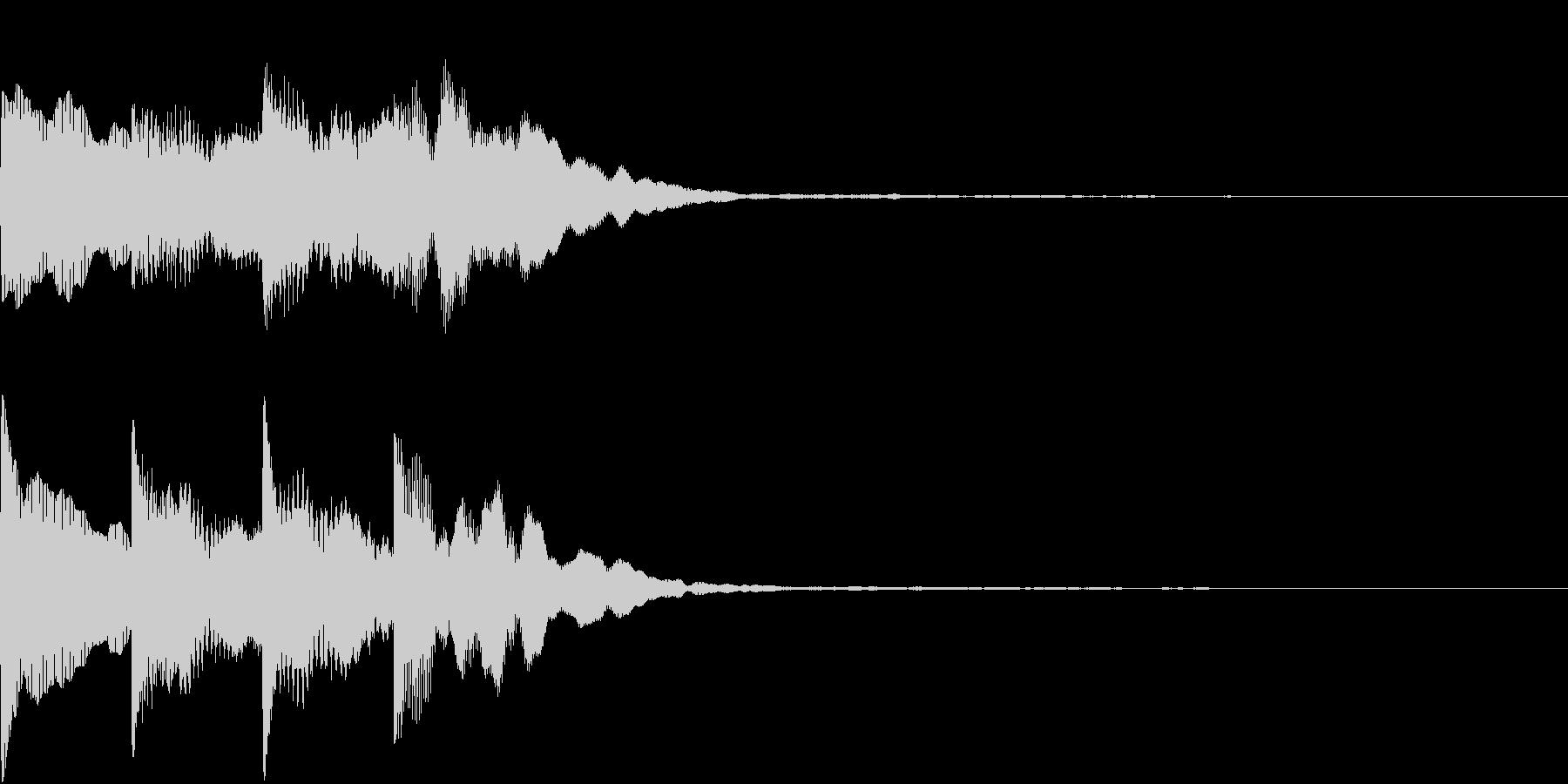 シンプル アナウンス 案内 放送 20の未再生の波形