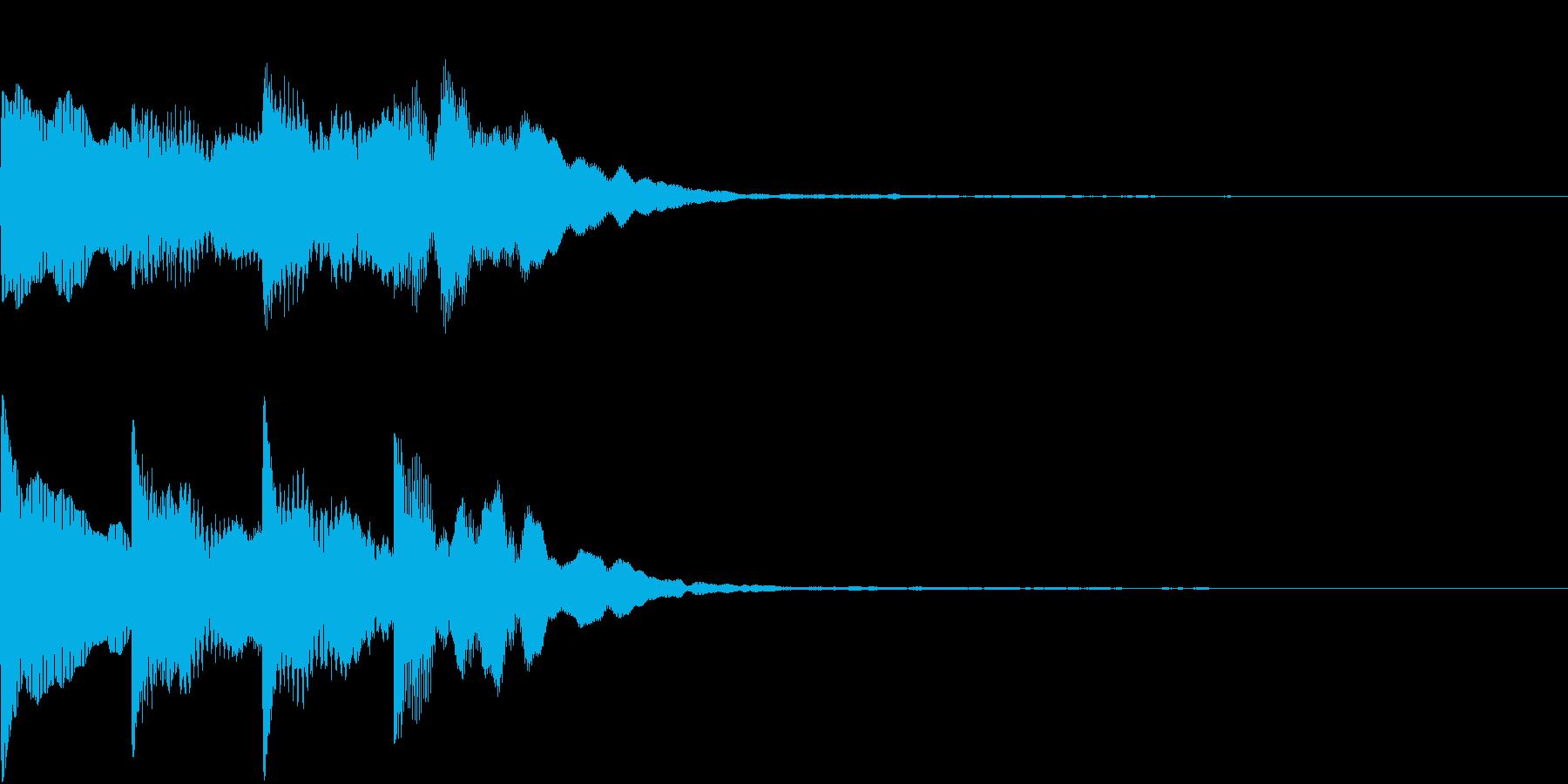 シンプル アナウンス 案内 放送 20の再生済みの波形