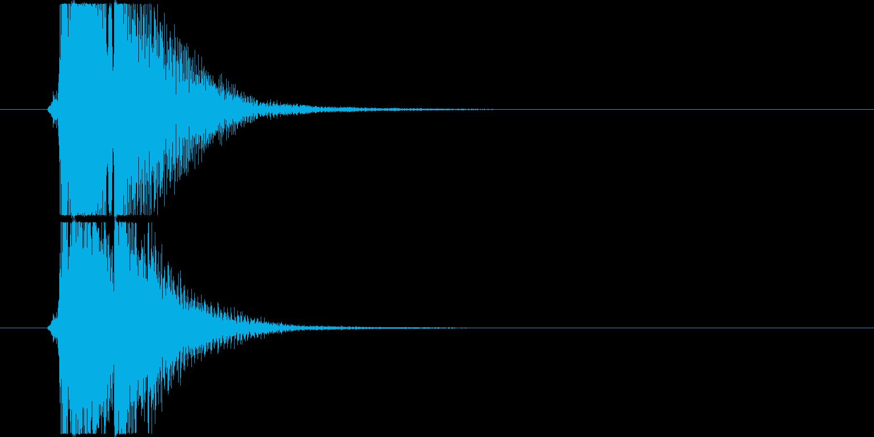 べベン/三味線/和風/掛け声入りの再生済みの波形