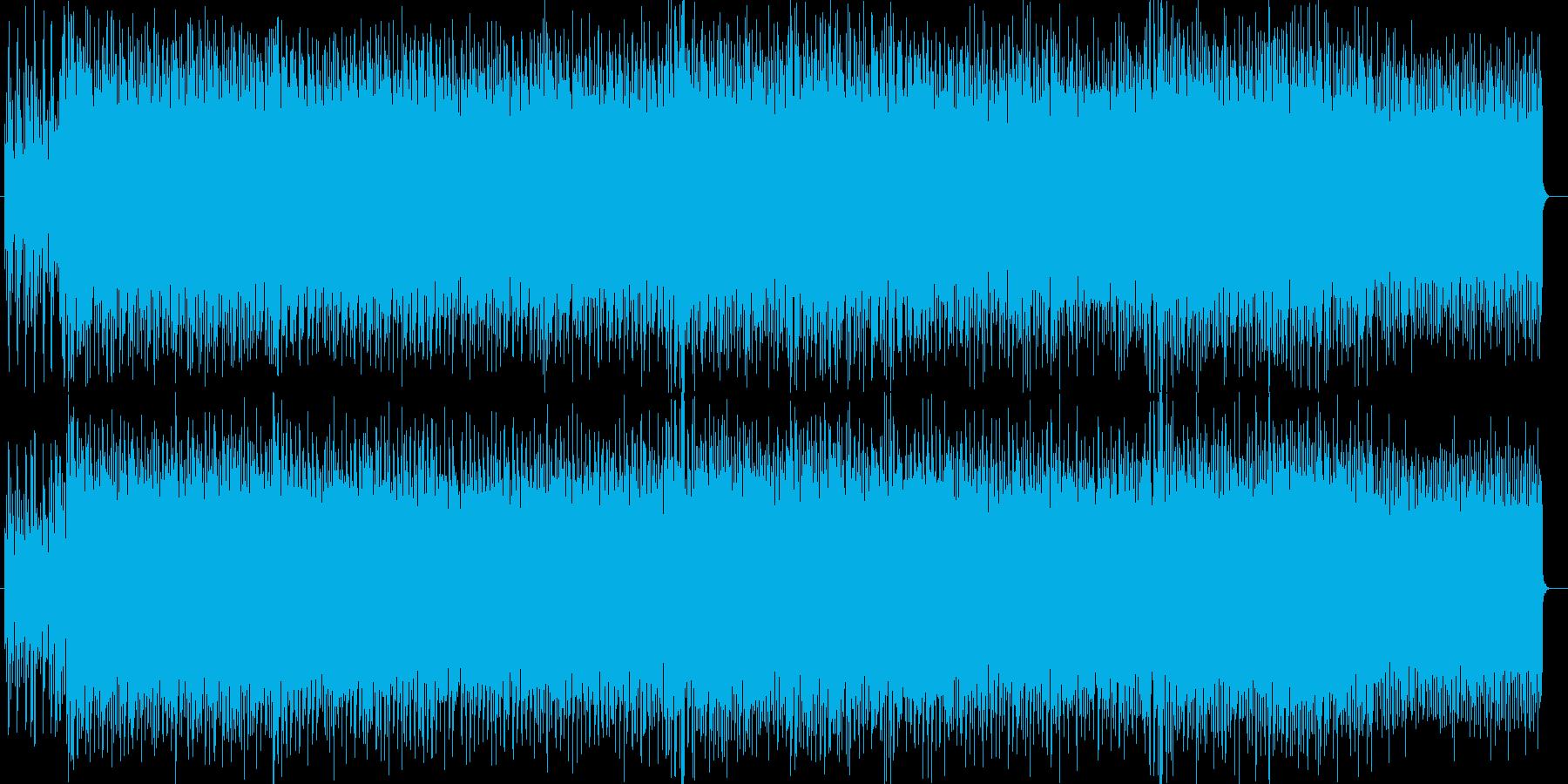 高揚感ある爽やかなインスト・2の再生済みの波形