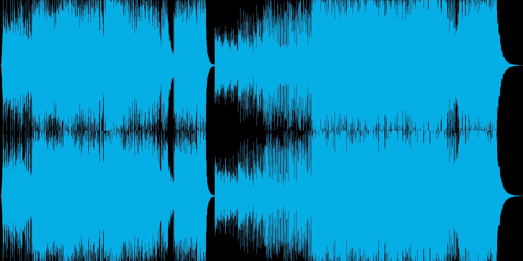 威風堂々EDM Verの再生済みの波形