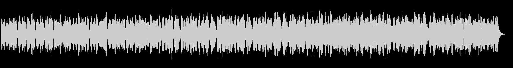 ストリングスのヒーリングミュージックの未再生の波形