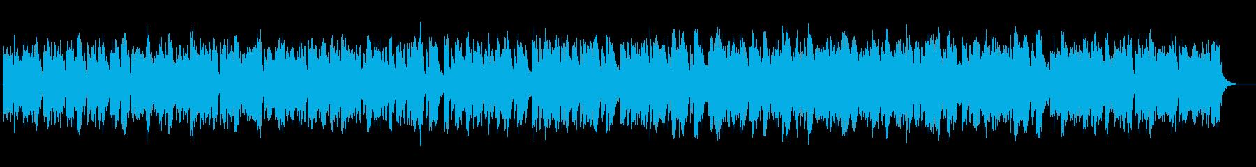ストリングスのヒーリングミュージックの再生済みの波形