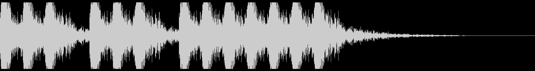 三三七拍子 その14 オーケストラの未再生の波形