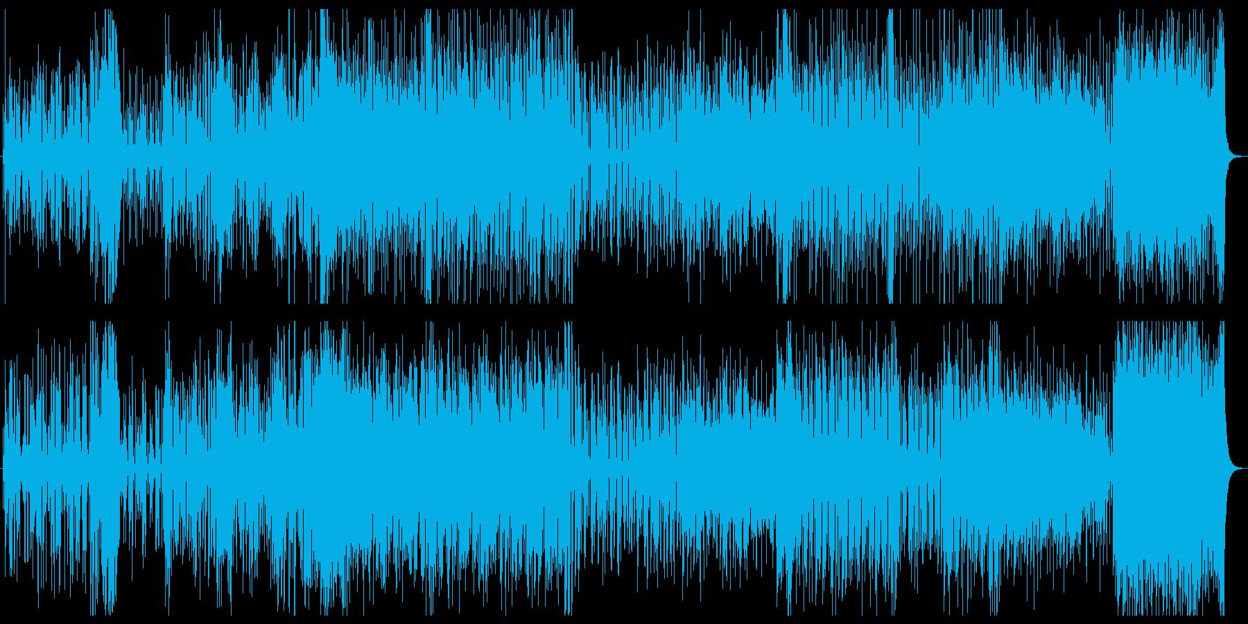 知的でライトな明るめジャズの再生済みの波形
