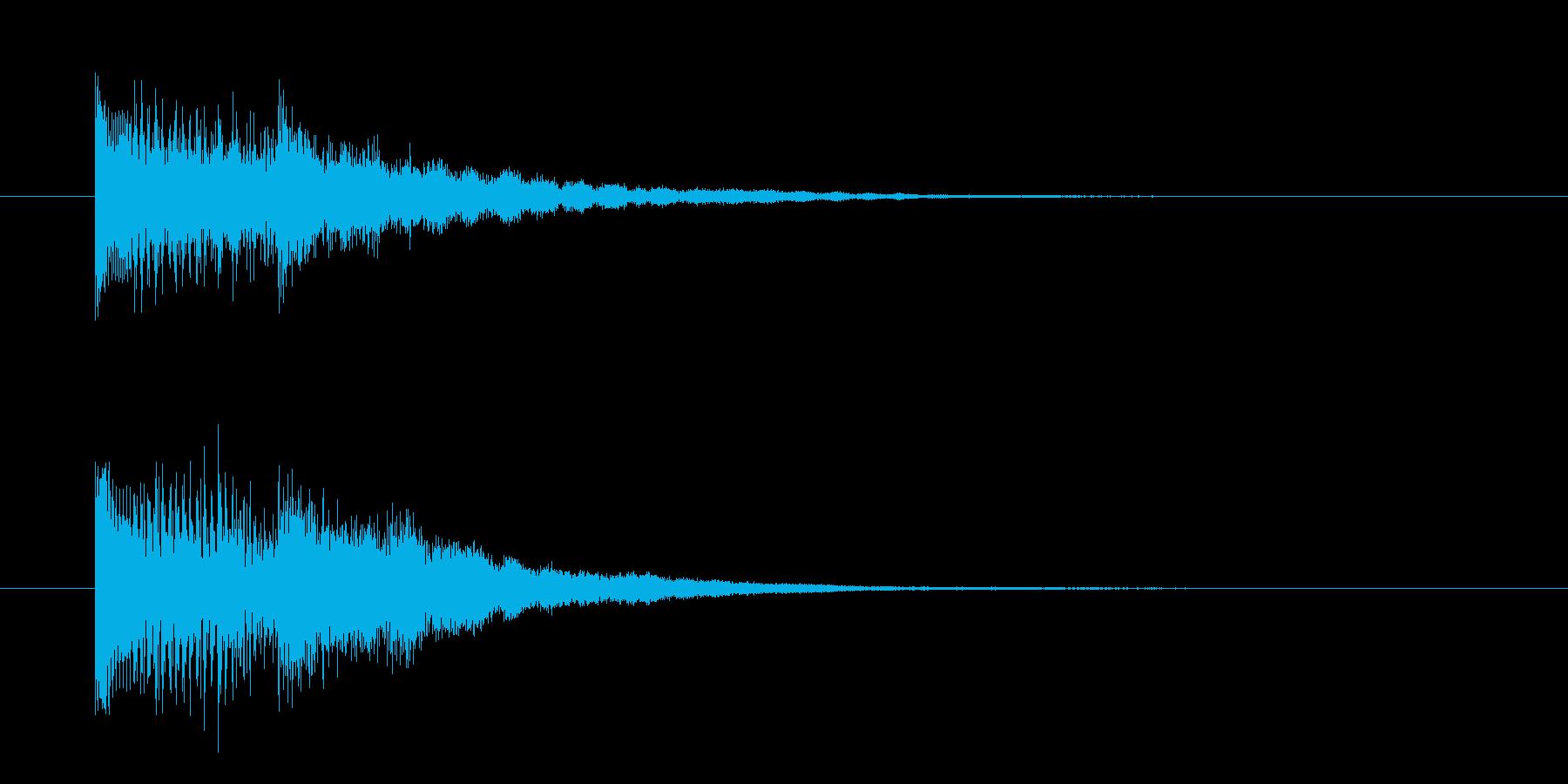 トゥルリリンの再生済みの波形