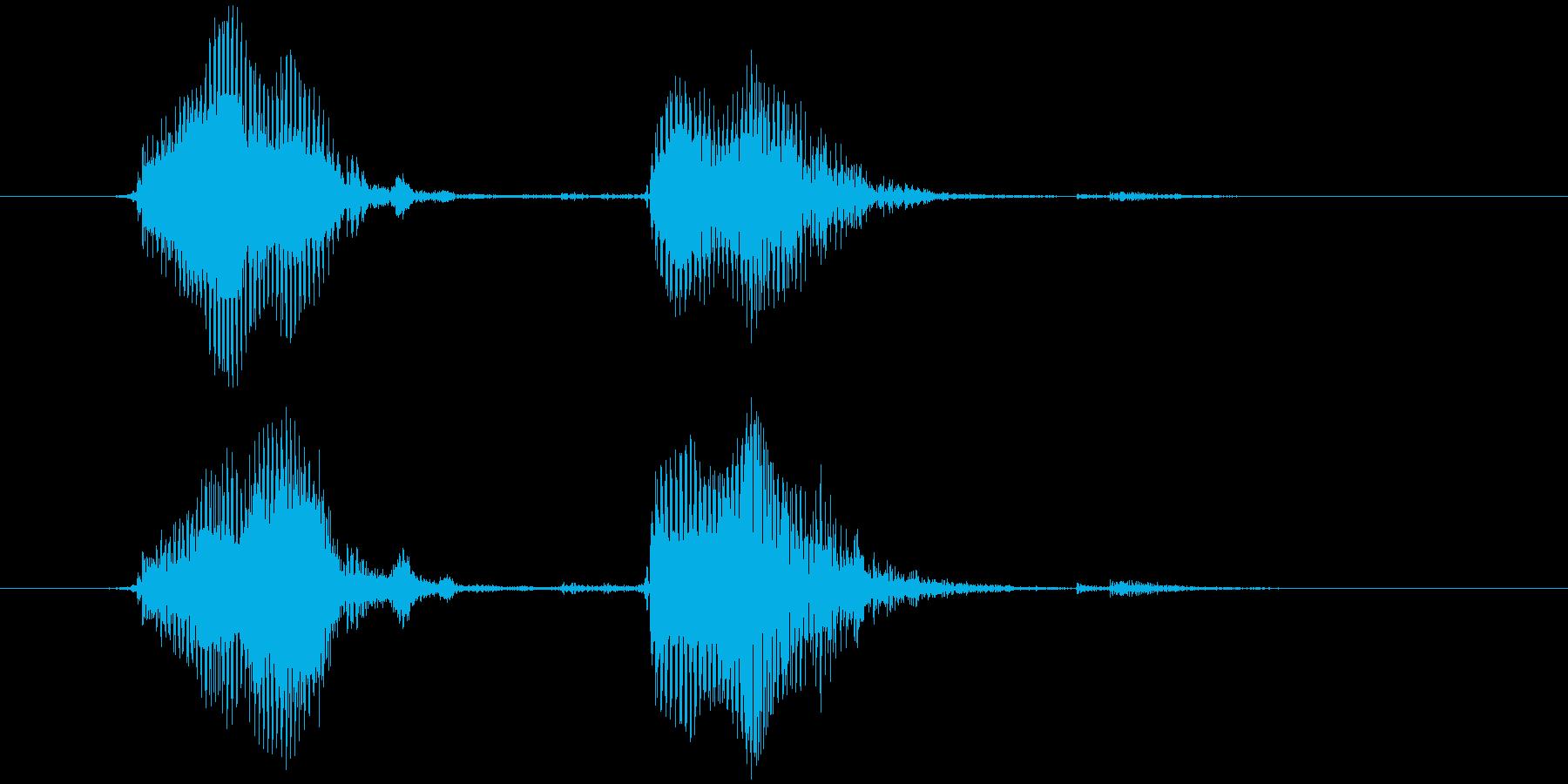 スマイルハンマー ピヨッの再生済みの波形