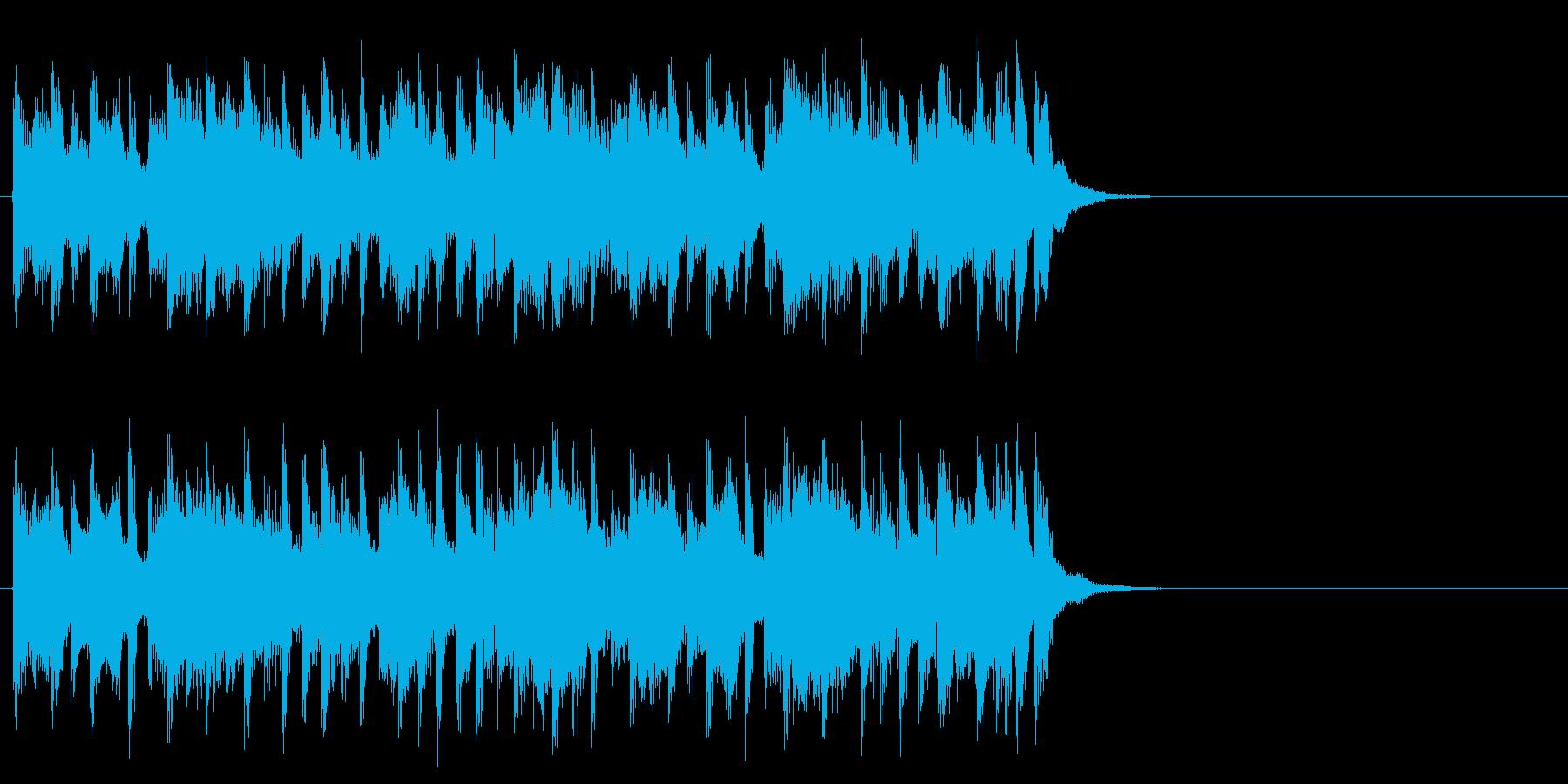 ほのぼのと優しいポップ(サビ)の再生済みの波形
